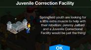 Juvenile Correction Facility Notification