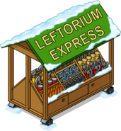 Leftorium Express Flipped Snow Menu