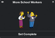 More School Workers Character Collection