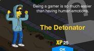 The Detonator Unlock Screen
