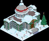Christmas Burns Manor Menu