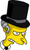 Ebenezer Burns Angry Icon