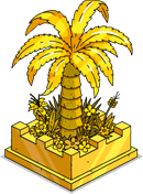 Gold Fancy Tree Menu