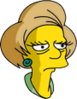 Mrs. Krabappel Sad Icon