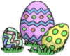 Easter Egg Pile