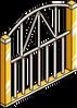 Gold Stadium Fence Menu