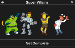 Super Villains Character Collection 2