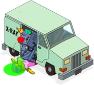 Unlocked Prize Screen X-Ray Truck