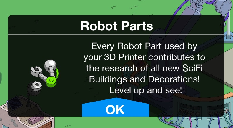 Robot Parts | The Simpsons: Tapped Out Wiki | FANDOM powered