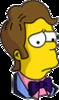 Prom Time Homer Sad Icon
