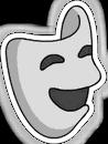 Theatre Mask Sidebar Icon