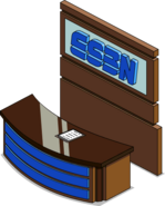 ESBN Sports Desk Flipped Menu