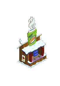 Hot Squishee Station Snow Menu
