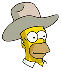 Cowboy Homer Sidebar