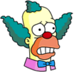 Krusty Scared Icon