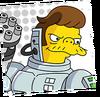 Cyborg Snake Portrait