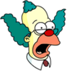 Krusty the Christian Surprised Icon