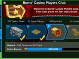 Players Club Points