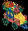 Flower Cart of Love Menu