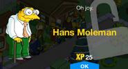Hans Moleman Unlock Screen