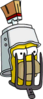 Homer Bearbuster serious Icon