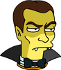 Count Dracula Scary Icon