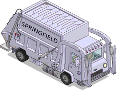 Garbage Truck Menu