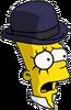 Clockwork Bart Scared Icon