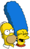 Homer and Marge Icon