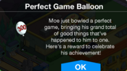 The Perfect Game Moe Balloon