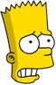 Bart Scared Icon