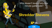 Shredder Stevens Unlocked