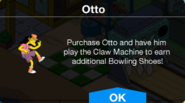 Claw Machine Otto not owned notification