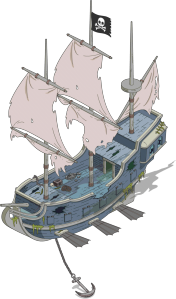 Ghost Pirate Airship Menu