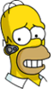 Homer Guiltyphone Icon