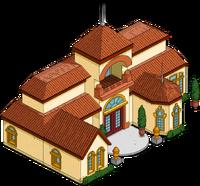Krusty's Mansion Menu