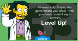 Level 33 Message