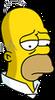 Retired Homer Sad Icon