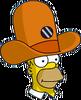 Camera Hat Homer Icon