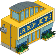 L.A. Body Works Menu