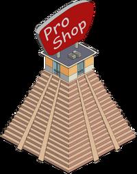 Pro-Shop Menu