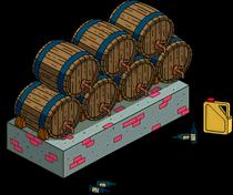 Wine Barrels Menu