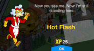 Hot Flash Unlock Screen