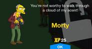 Morty Unlock Screen