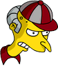 Softball Mr. Burns Angry Icon