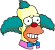 Krusty Cautious Icon