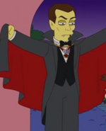 Count Dracula in the show