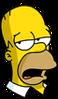 Homer Snobby Icon
