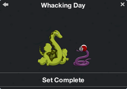 Whacking Day Character Collection