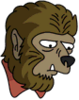 Werewolf Sad Icon
